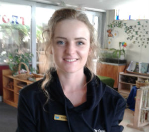 Mikayla Inglis - The Cambridge Early Learning Centre, childcare, ECE, and daycare located in Cambridge, Waikato, NZ